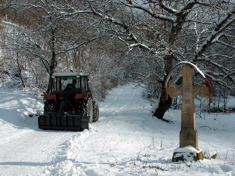 Întreținerea drumurilor pe timp de iarnă