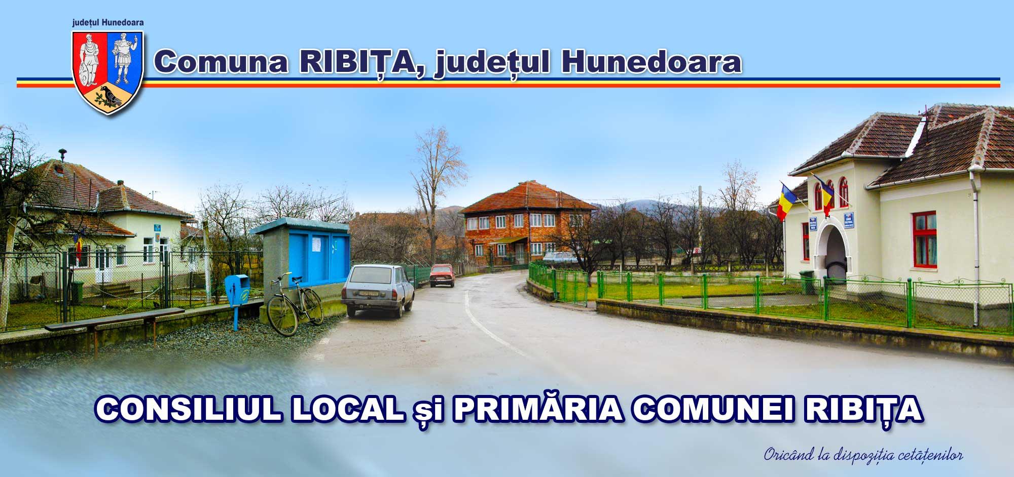 Consiliul Local și Primăria Comunei Ribița, jud. Hunedoara